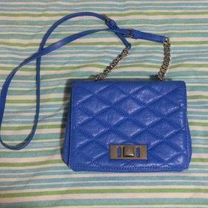 Zara genuine leather crossbody purse